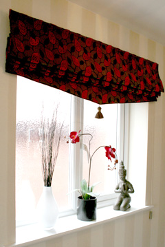 Curtain Call | Roman Blinds